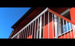 Nerezové balkonové zábradlí