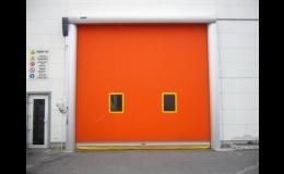 venkovní rychloběžná vrata