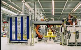 ochrana automatických strojů, rychlonavíjecí vrata a mříže
