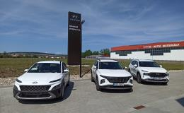 nové vozy Hyundai v autosalonu Uherský Brod