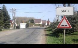 Začátek obce Srby