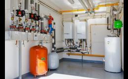 Topné systémy, rozvody plynu a vody