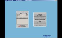 Úvodní obrazovka mzdového programu