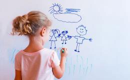 Odolné popisovací tabule pro děti