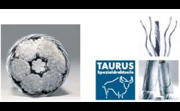 Ocelová lana Taurus
