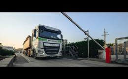 Odbavovací systémy pro nákladní vozidla