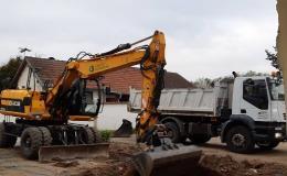 Odvoz suti, pronájem kontejnerů na stavební suť Znojmo, Moravský Krumlov