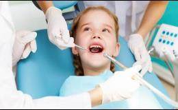 Dětská návštěva zubního lékaře na klinice v Praze 4