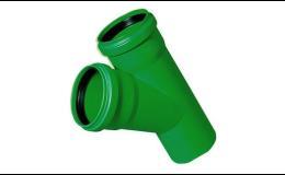 Kanalizační trubky a tvarovky z polypropylenu KG 2000 POLYPROPYLEN