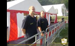 Bezpečnostní agentura - ostraha na sportovních akcích