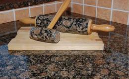 Výroba kamenných doplňků do kuchyně
