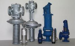 Redukční a pojistné ventily