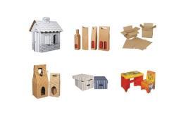 Dárkové obaly, krabice stěhovací a na hračky