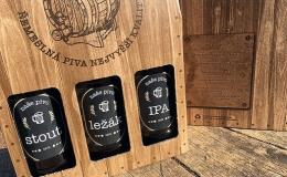 Recyklovatelné odnosné obaly na pivní speciály, ležáky