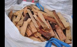 palivové dřevo - odřezky z výroby