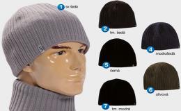 Pletené pánské zimní čepice