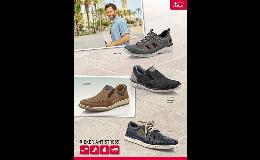 Prodej pánské obuvi značky Rieker, Marco Tozzi