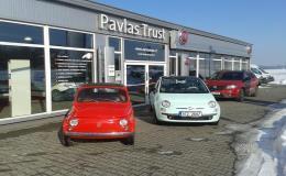Autorizovaný prodejce a servis vozů Fiat