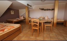 Penzion Červinka poskytuje ubytování ve slunném a kraji vína - na Pálavě
