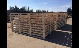 Výroba dřevěných palet všech velikostí