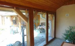 Dodávka plastových dveří a zimní zahrady z plastových okenních profilů Ivančice, Pohořelice