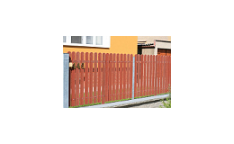 Plastové plotové profily