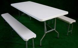 Plastové sety stolů a laviček
