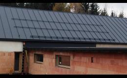 Realizace nové střechy na RD