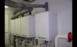 Plynová kondenzační kotelna Viessmann