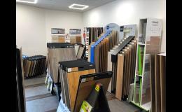 Podlahové krytiny - široký výběr