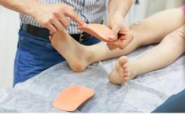 Odborné podologické vyšetření chodidel