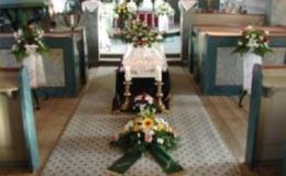 Pohřeb v kostele - zajistí Pohřební služba Horká Staré Město