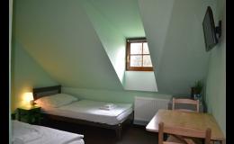 Ubytování v Hotelu v Telči - pokoj Standard