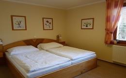 Soukromé ubytování ve dvoulůžkových pokojích s přistýlkou