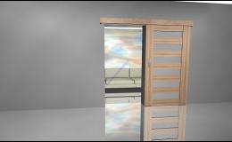 Posuvné dveře rámové - prodej přes e-shop
