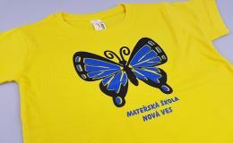 Zakázkový potisk triček pro maturanty, školáky a předškoláky