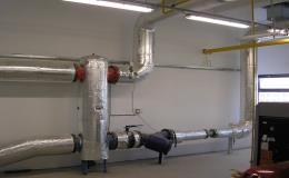 Montáž, demontáž potrubních systémů v průmyslových odvětvích Vysočina