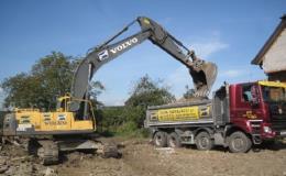 Stavební mechanizace pro práci na stavbách