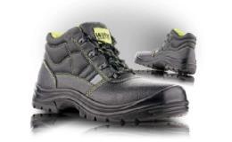Kožená pracovní kotníková obuv - unisex