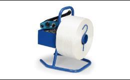 Odvíječe pro obalovací pásky