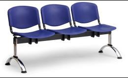 Plastové lavice do čekárny
