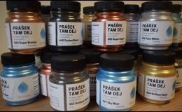 Práškový pigment do pryskyřice