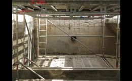 Sanace betonových konstrukcí v průmyslu