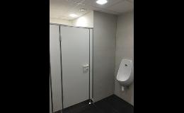 Příčky pro WC kabiny