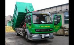 přistavení kontejneru včetně odvozu odpadu
