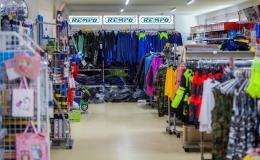 Prodej pracovních oděvů, obuvi, ochranných pomůcek