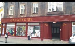 Prodej textilu a galanterie - metrový textil, záclony, módní vlny na pletení ...