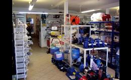 Prodejna s vodoinstalačím materiálem Zábřeh