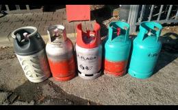 Prodej propan butanových lahví