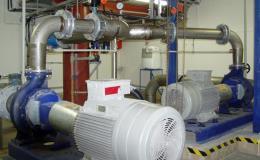 Čerpací stanice - distribuce technické vody